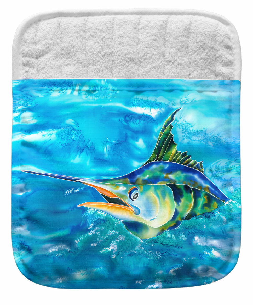 Live Free Splash The Marlin Potholder Wayfair