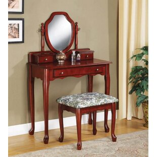 Inexpensive Calne Vanity Set with Mirror by Darby Home Co