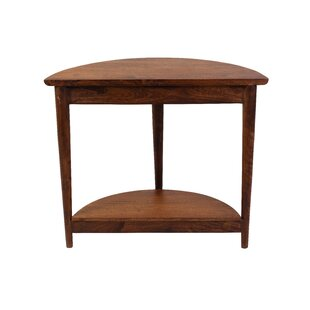Aubin 47 Solid Wood Console Table by George Oliver