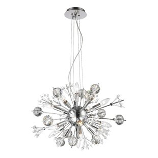 Orren Ellis Kinch 20-Light Sputnik Chandelier