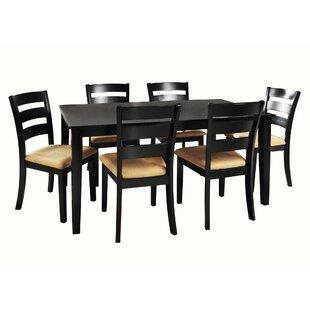 Andover Mills Oneill 7 Piece Dining Set