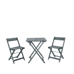 Highland Dunes Belle 3 Piece Bistro Set