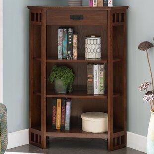 Sanroman Corner Bookcase By Canora Grey