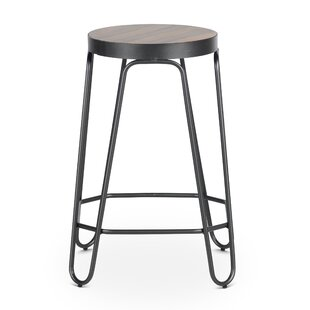 Romero 24'' Bar Stool Williston Forge