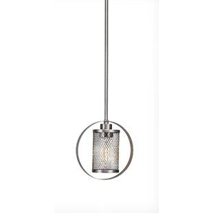 Brayden Studio Deshotel 1-Light Geometric Pendant