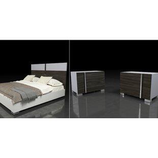 Wade Logan Cobbey Platform 3 Piece Bedroom Set