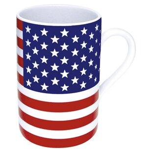 46412ed9930 Stars and Stripes Flag 10 Oz. Coffee Mug (Set of 4)
