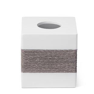 Roselli Trading Company Castaway Tissue Box Cover Holder