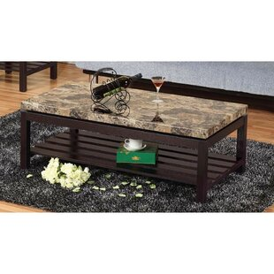 Cepeda Wooden Coffee Table with Storage