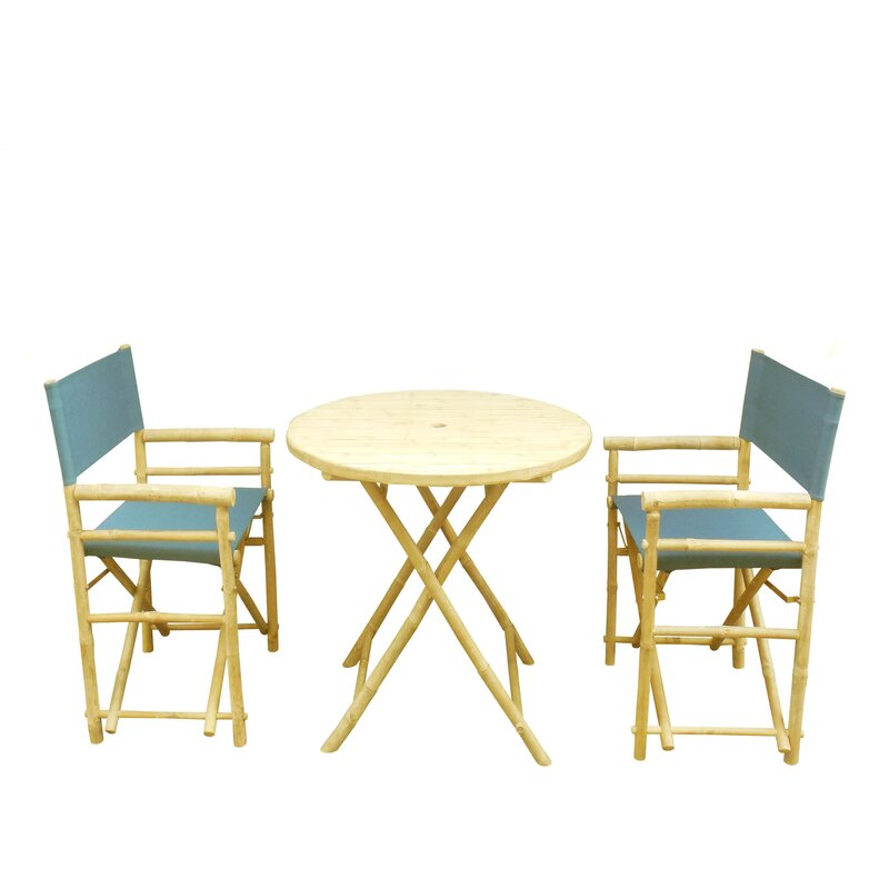 ZEW Inc 3 Piece Dining Set