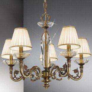 Chandelier lamp shades wayfair 14cm contarini empire candelabra shade aloadofball Choice Image