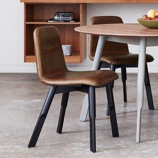 Bracket Upholstered Dining Chair
