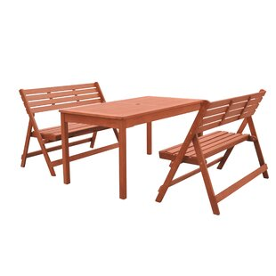Casto 3 Piece Dining Set