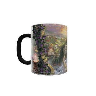 Beauty and the Beast Falling in Love Heat Changing Morphing Mug