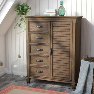 Dorrington 5 Drawer Gentleman's Chest by Beachcrest Home