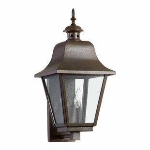 Alcott Hill Irina 3-Light Outdoor Sconce