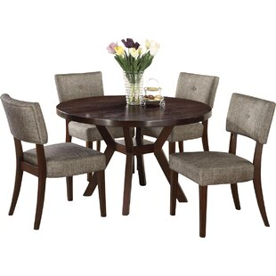 Kraemer 5 Piece Dining Set Red Barrel Studio