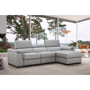 Lindsey Reclining Sectional by Orren Ellis