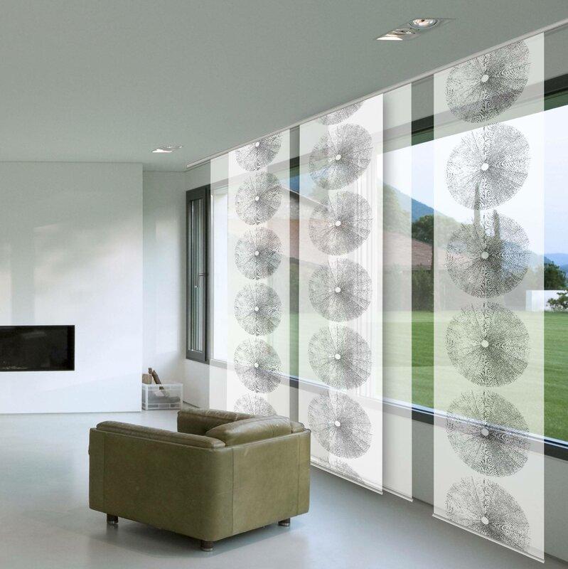 gardinia schiebegardine tree bewertungen. Black Bedroom Furniture Sets. Home Design Ideas