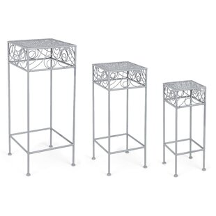 Nessa 3 Piece Nesting Plant Stand Set By Lily Manor