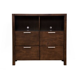 Orren Ellis Lahl TV 4 Drawer Media Chest