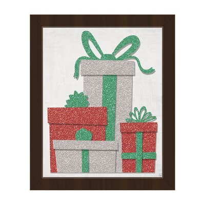 "'Cherry Limeade Gifts ' Framed Graphic Art Click Wall Art Format: Espresso Framed, Size: 16.5"" H x 13.5"" W"