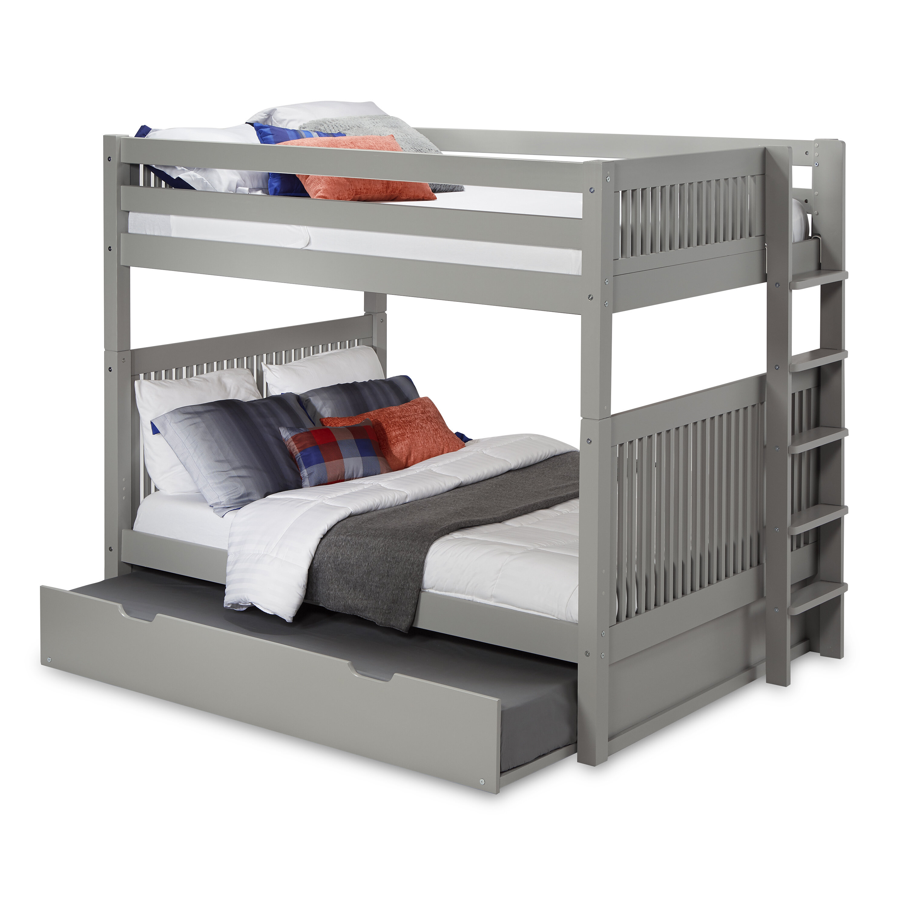 Picture of: Bunk Bed With Trundle