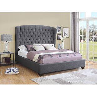 Celestine Upholstered Panel Bed