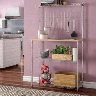 Wrought Studio Shrewsbury Étagère Steel Baker's Rack