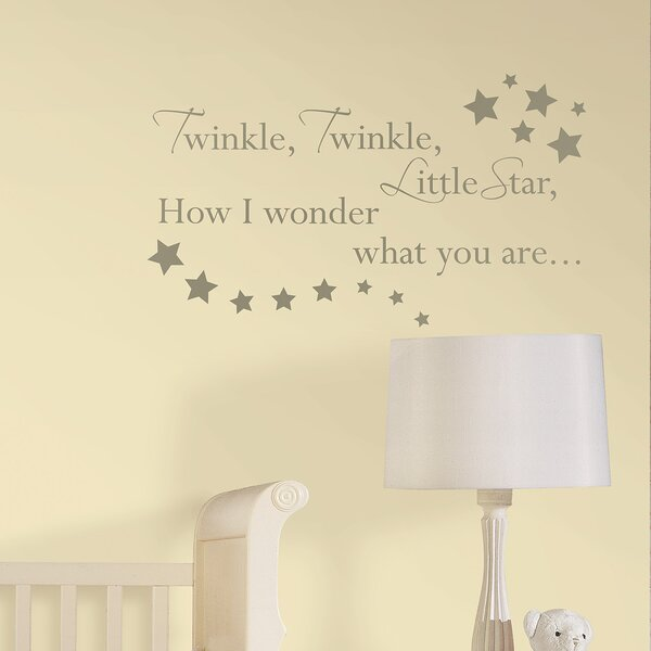Baby Le Nursery Rhyme 23 Piece Wall Decal Set Reviews Wayfair