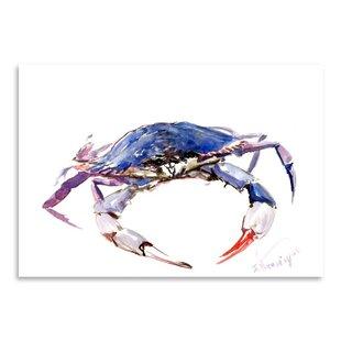 Blue Crab Painting Print