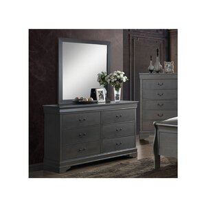 Charlton Home Poulos 6 Drawer Double Dresser