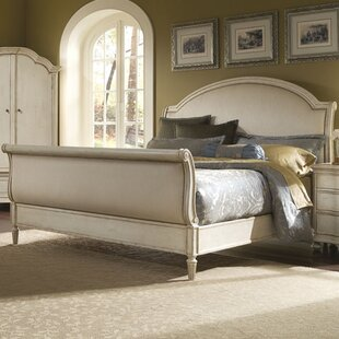 Lark Manor Daniella Upholstered Sleigh Bed