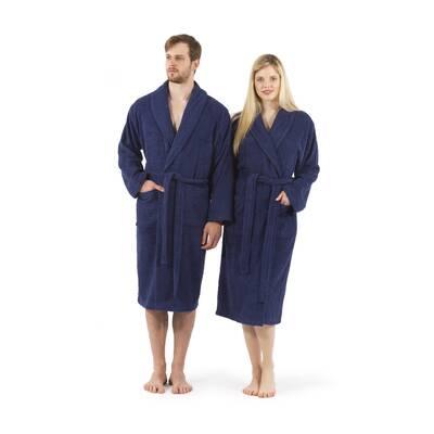 Cowling 100% Turkish Cotton Terry Cloth Bathrobe 25e10c7da