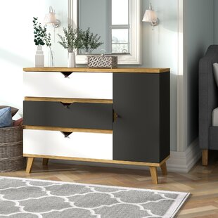 Raven 3 Drawer Chest By Hashtag Home