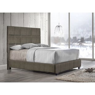 Pohlman Upholstered Panel Bed by Union Rustic