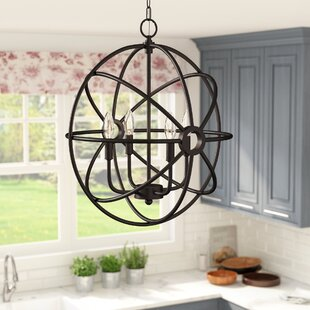 Buying Saladino 4-Light Chandelier By Laurel Foundry Modern Farmhouse