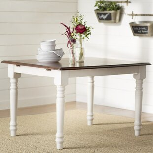 Lockwood Extendable Solid Wood Dining Table Loon Peak