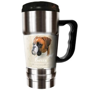 Howard Robinson's Boxer 20 oz. Stainless Steel Travel Tumbler