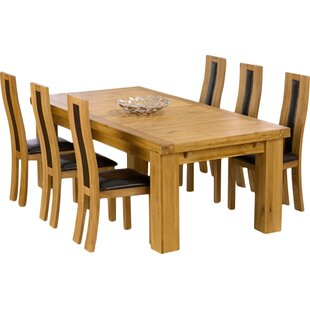Murcia Extendable Dining Set With 6 Chairs By Home Etc