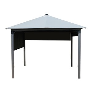 Winder 3m X 3m Aluminium And Steel Patio Gazebo By Sol 72 Outdoor