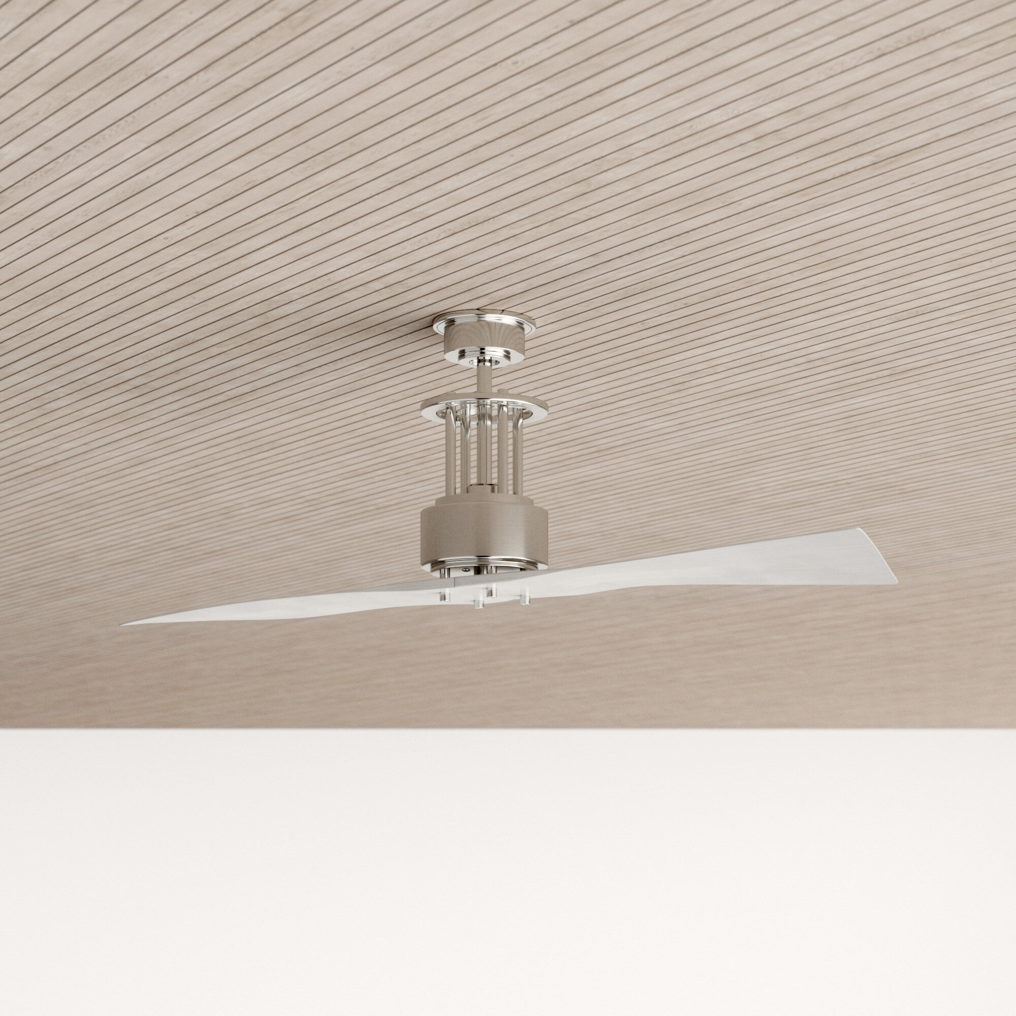 56 Victoria 2 Blade Ceiling Fan With Remote Reviews Allmodern