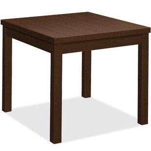 Mocha Laminate End Table