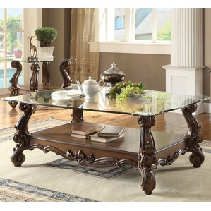 Welton Traditional Coffee Table by Astoria G..