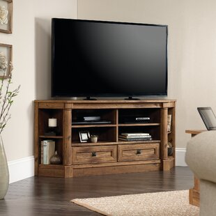 Three Posts Orviston Corner TV Stand for TVs up to 60