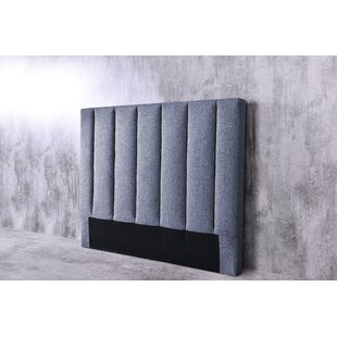 Brent Queen Upholstered Panel Headboard by Ivy Bronx