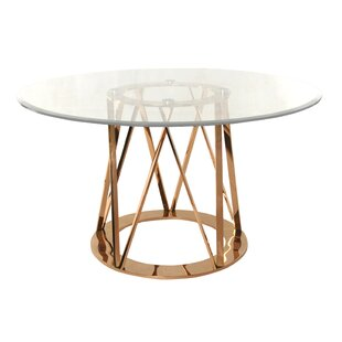 Mayall Round Metal Dining Table