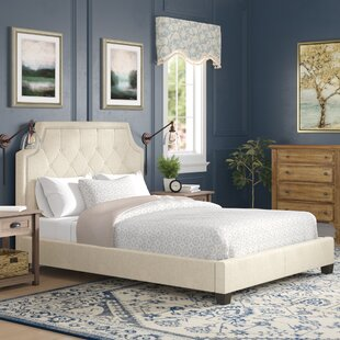 Rae Upholstered Platform Bed by Three Posts