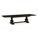 Extendable Acacia Solid Wood Dining Table by Jonathan Charles Fine Furniture