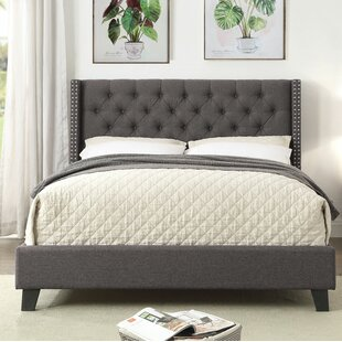 Layne Queen Upholstered Platform Bed by Wrought Studio